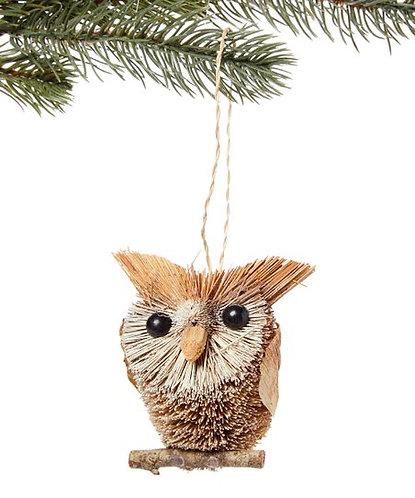 Bottle Brush Owl