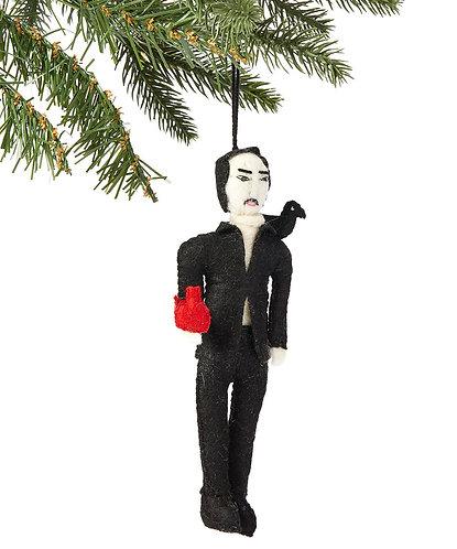 Edgar Allen Poe Ornament