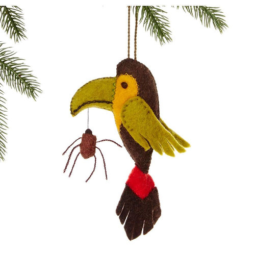 Toucan Ornament