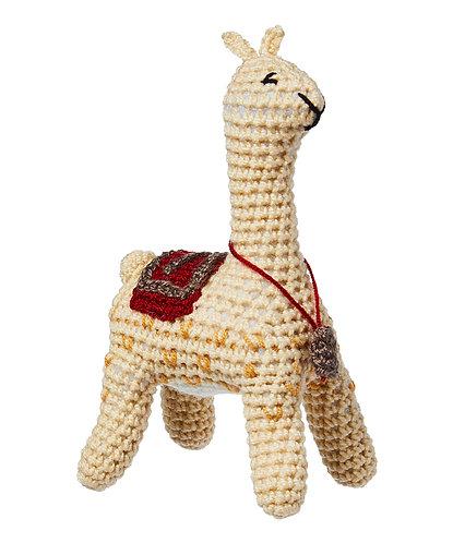 Knit Rattle, Llama