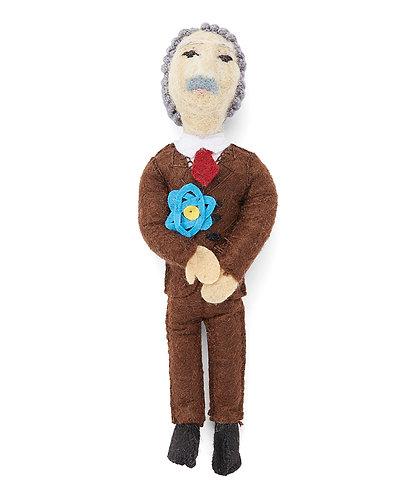 Albert Einstein Ornament