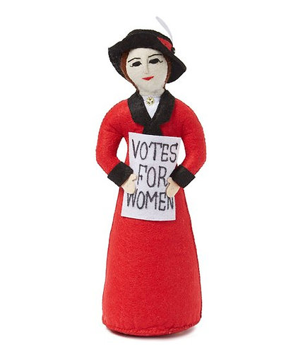 Red Suffragette Bookend