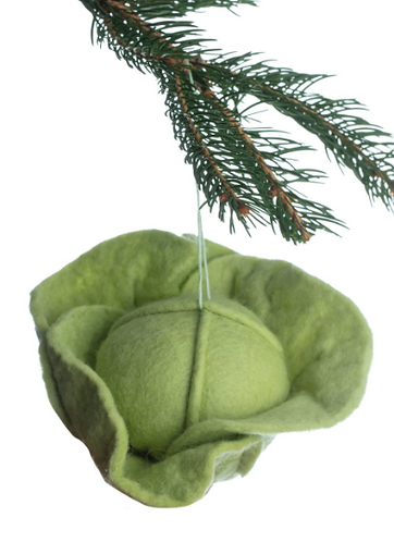 Lettuce Ornaments