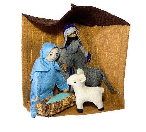 Manger Nativity Set