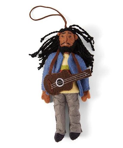 Bob Marley Ornament