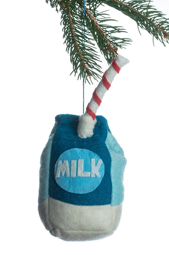 Milk Ornament