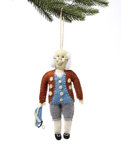 Ben Franklin Ornament