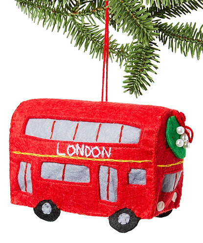 London Bus Ornament