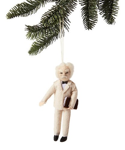 Mark Twain Ornament