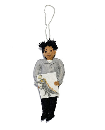 Jean-Michel Basquiat Ornament