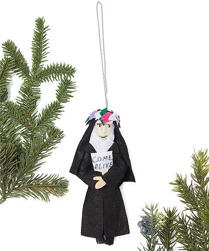 Corita Kent Ornament