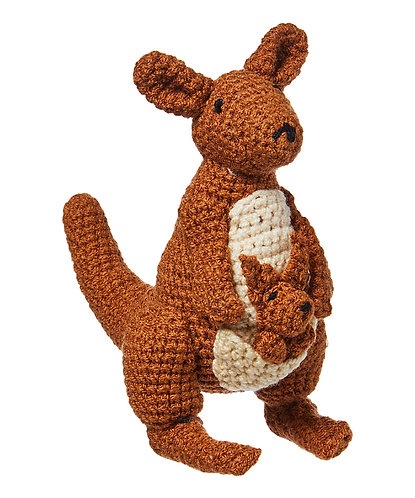 Knit Rattle, Kangaroo