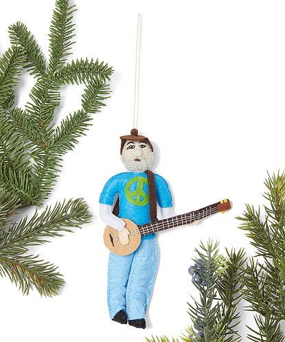 Pete Seegar Ornament