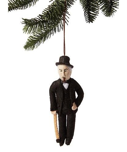 Winston Churchill Ornament