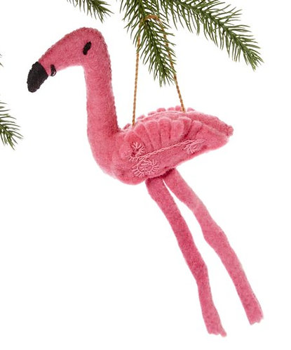 Flamingo Ornament