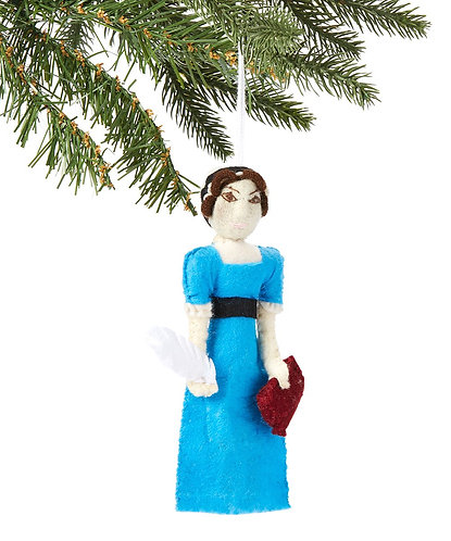 Jane Austen Ornament