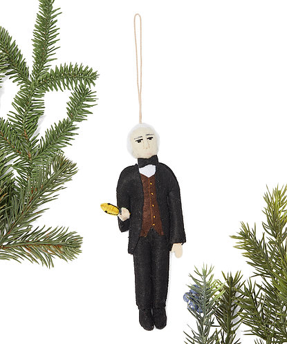 Thomas Edison Ornament