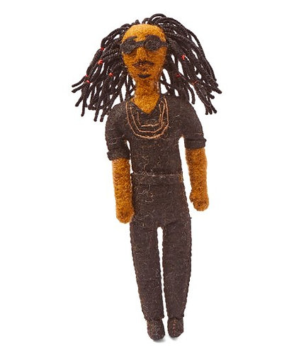 Stevie Wonder Ornament