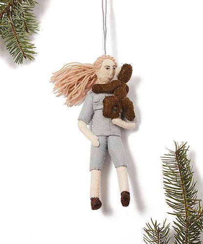 Jane Goodall Ornament