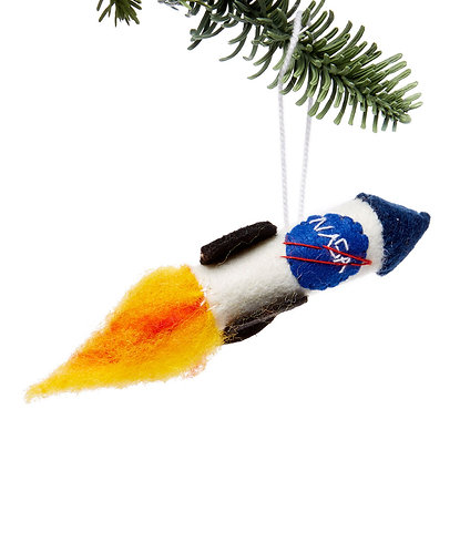 NASA Rocket Ornament