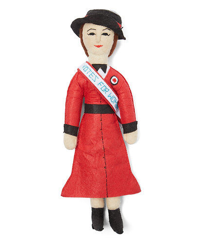 Suffragette Doll