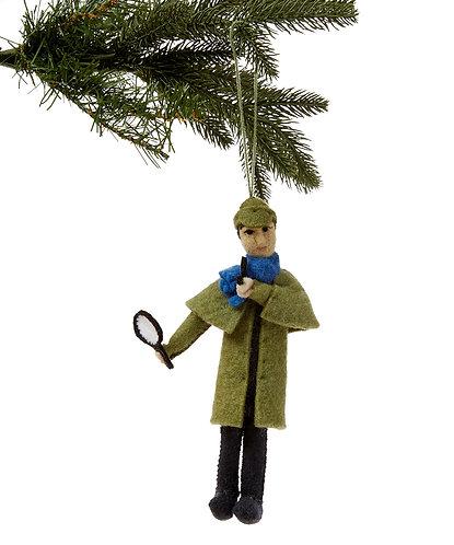 Sherlock Holmes Ornament