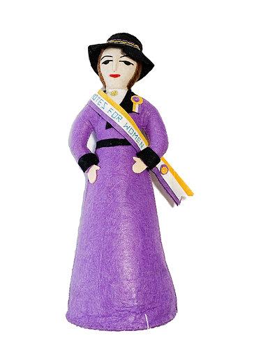 Purple Suffragette Bookend