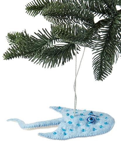 Stingray Ornament