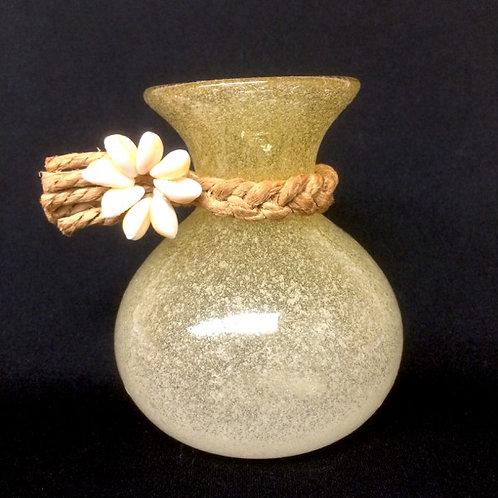 吹きガラスのイプヘケ花器