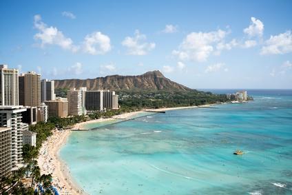 ハワイの思い出に