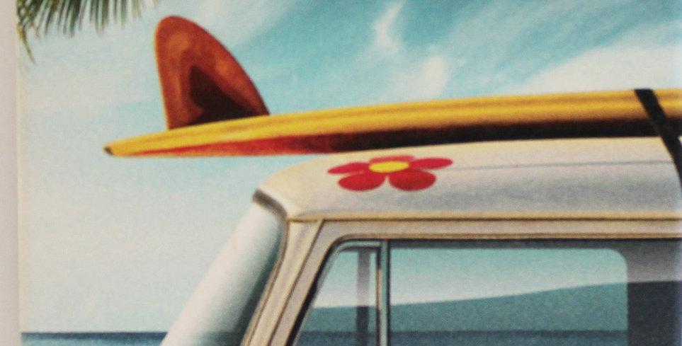 メモリアルコースター:ハワイアンスタイル*6個