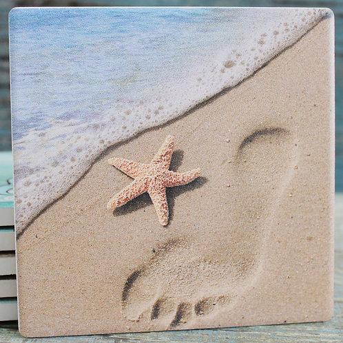 メモリアルコースター:海辺の散歩 *6個