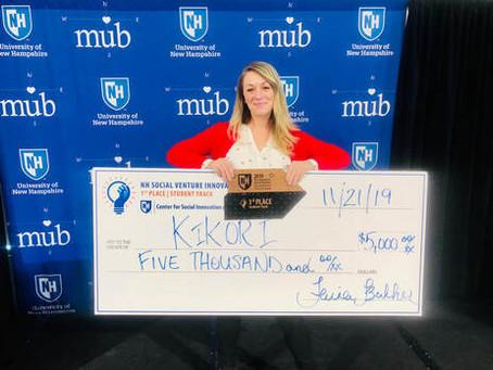 Kikori Takes First Place New Hampshire Social Venture Innovation Challenge