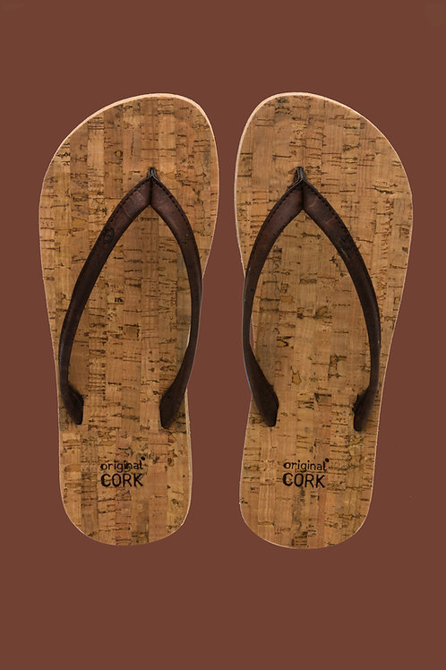 Old Oak cork flip-flops