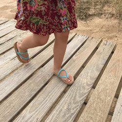 Toddlers cork sandals