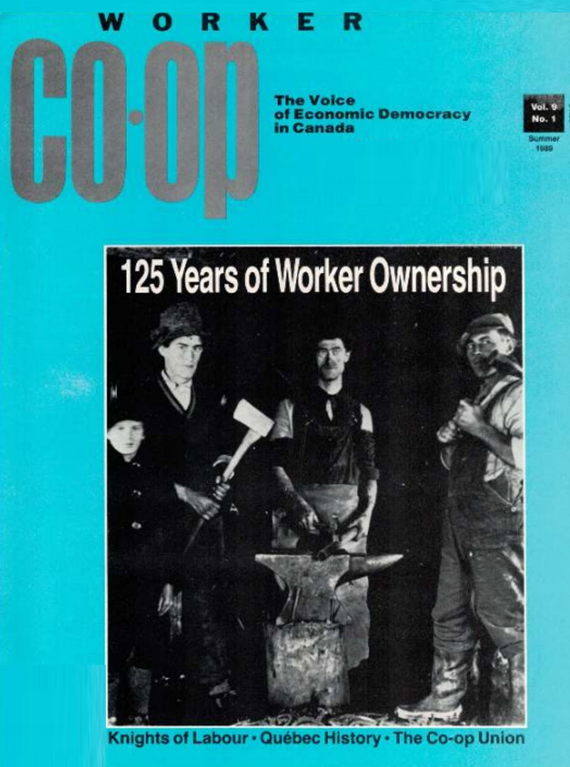 Worker Co-op Summer 1989