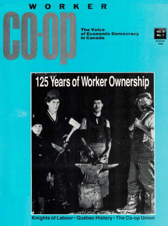 Worker Co-op Summer 1989
