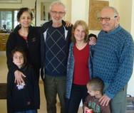 Uri Rachel Jack  Dale  grandsons in Isre