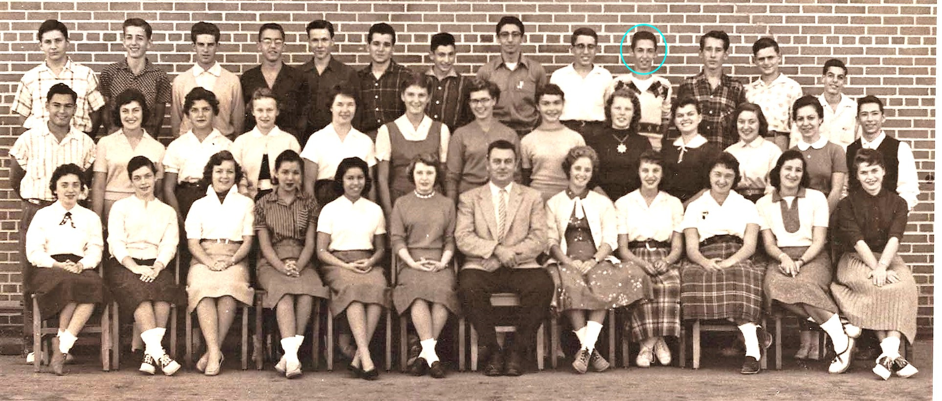 Bathurst Heights Collegiate 1956