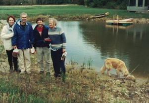Linda Jack Paul Hugh Alphie at trout pon