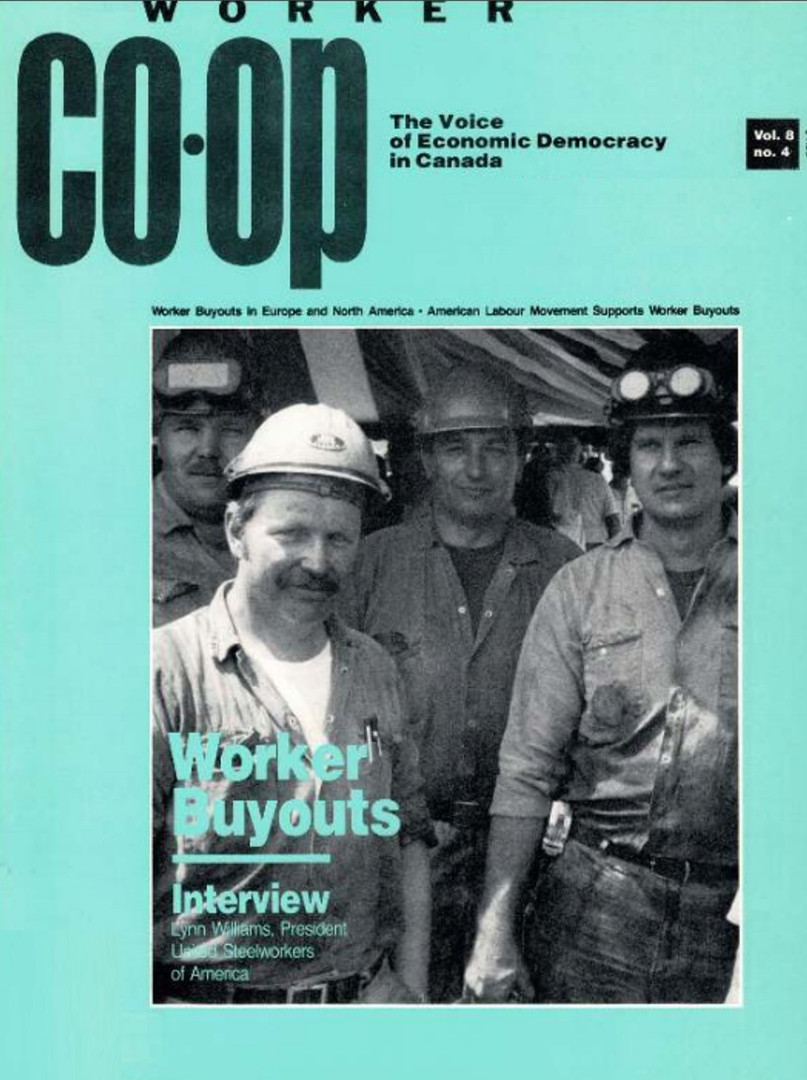 Worker Co-op Spring 1989