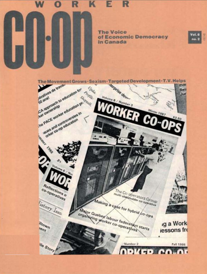Worker Co-op Fall 1988
