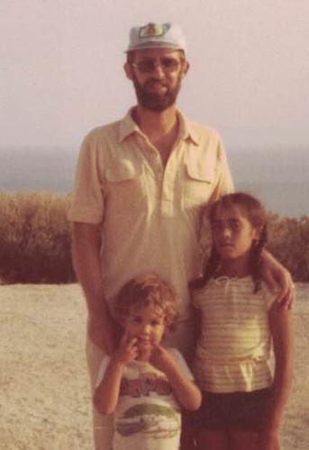 Jack with David & Zoey on Kibbutz