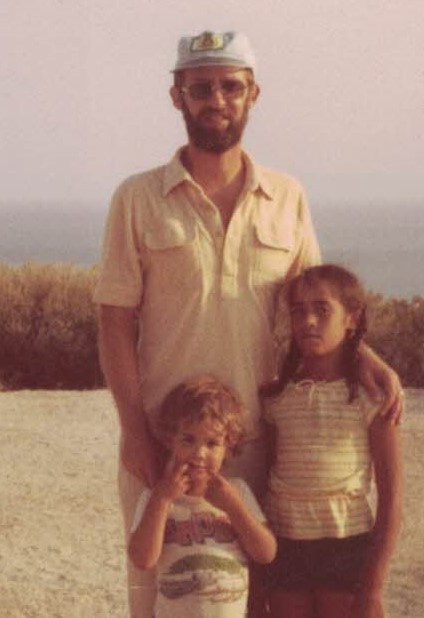 Jack with David & Zoey on Kibbutz