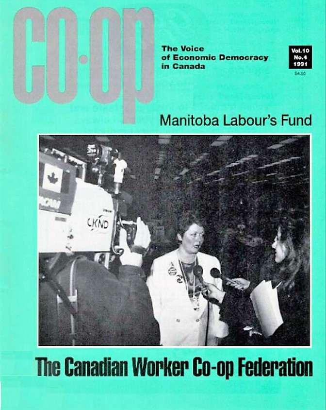 Worker Co-op Winter 1991