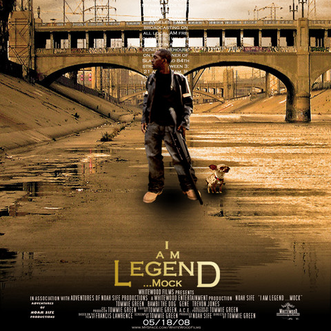 I AM LEGEND... MOCK