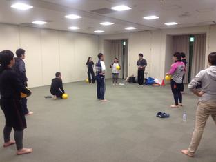 岡崎市で開催セミナー第一題目:運動能力の発達を向上させるバルシューレ