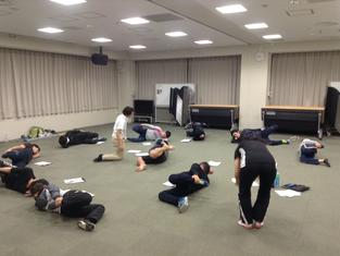 岡崎市で開催セミナー第二題目:スポーツに特化した体のチェック方法FMS