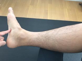 2、身体の不調を示す足底の硬さのチェックポイント