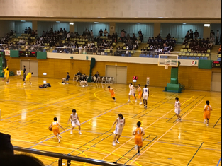 高校バスケットボール観戦